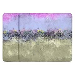 Abstract Garden In Pastel Colors Samsung Galaxy Tab 8 9  P7300 Flip Case