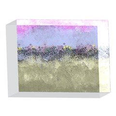 Abstract Garden in Pastel Colors 5 x 7  Acrylic Photo Blocks