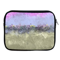 Abstract Garden in Pastel Colors Apple iPad 2/3/4 Zipper Cases