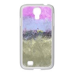 Abstract Garden in Pastel Colors Samsung GALAXY S4 I9500/ I9505 Case (White)