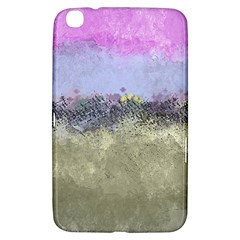 Abstract Garden in Pastel Colors Samsung Galaxy Tab 3 (8 ) T3100 Hardshell Case