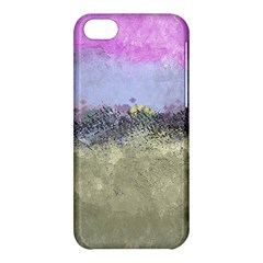 Abstract Garden In Pastel Colors Apple Iphone 5c Hardshell Case