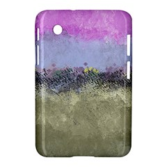 Abstract Garden In Pastel Colors Samsung Galaxy Tab 2 (7 ) P3100 Hardshell Case