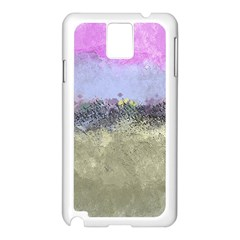 Abstract Garden In Pastel Colors Samsung Galaxy Note 3 N9005 Case (white)