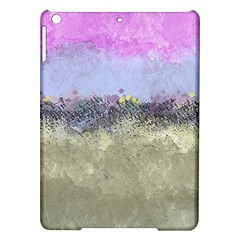 Abstract Garden in Pastel Colors iPad Air Hardshell Cases