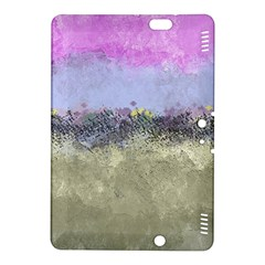 Abstract Garden In Pastel Colors Kindle Fire Hdx 8 9  Hardshell Case