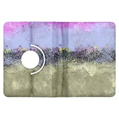 Abstract Garden In Pastel Colors Kindle Fire Hdx Flip 360 Case