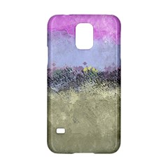 Abstract Garden In Pastel Colors Samsung Galaxy S5 Hardshell Case