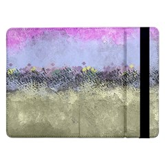 Abstract Garden in Pastel Colors Samsung Galaxy Tab Pro 12.2  Flip Case