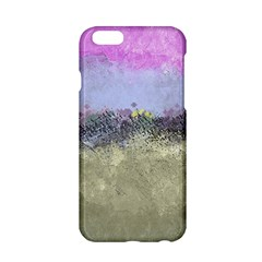 Abstract Garden in Pastel Colors Apple iPhone 6/6S Hardshell Case