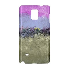 Abstract Garden in Pastel Colors Samsung Galaxy Note 4 Hardshell Case