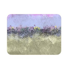 Abstract Garden in Pastel Colors Double Sided Flano Blanket (Mini)
