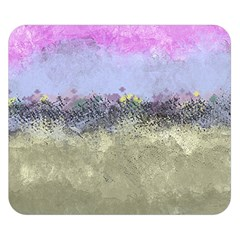 Abstract Garden In Pastel Colors Double Sided Flano Blanket (small)