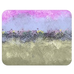Abstract Garden in Pastel Colors Double Sided Flano Blanket (Medium)