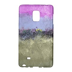 Abstract Garden In Pastel Colors Galaxy Note Edge