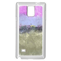 Abstract Garden In Pastel Colors Samsung Galaxy Note 4 Case (white)