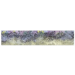 Abstract Garden In Pastel Colors Flano Scarf (small)