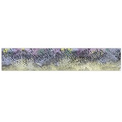 Abstract Garden in Pastel Colors Flano Scarf (Large)