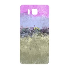Abstract Garden in Pastel Colors Samsung Galaxy Alpha Hardshell Back Case