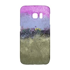 Abstract Garden in Pastel Colors Galaxy S6 Edge