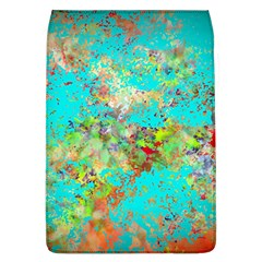 Abstract Garden In Aqua Flap Covers (l)