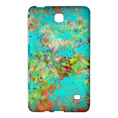 Abstract Garden in Aqua Samsung Galaxy Tab 4 (8 ) Hardshell Case