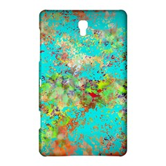 Abstract Garden in Aqua Samsung Galaxy Tab S (8.4 ) Hardshell Case