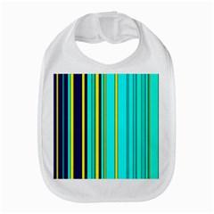 Hot Stripes Aqua Bib