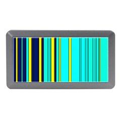 Hot Stripes Aqua Memory Card Reader (Mini)