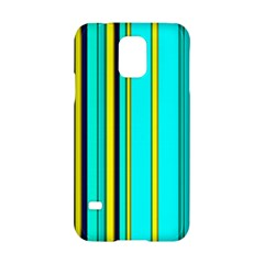 Hot Stripes Aqua Samsung Galaxy S5 Hardshell Case