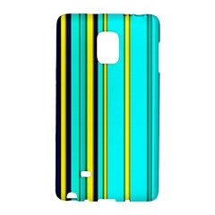 Hot Stripes Aqua Galaxy Note Edge