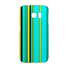 Hot Stripes Aqua Galaxy S6 Edge