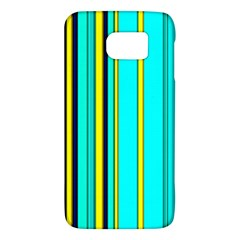 Hot Stripes Aqua Galaxy S6
