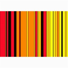 Hot Stripes Fire Collage 12  X 18