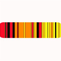 Hot Stripes Fire Large Bar Mats