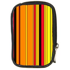 Hot Stripes Fire Compact Camera Cases