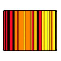 Hot Stripes Fire Fleece Blanket (Small)