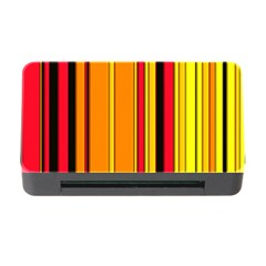 Hot Stripes Fire Memory Card Reader with CF