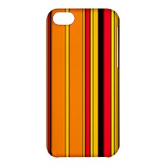 Hot Stripes Fire Apple Iphone 5c Hardshell Case