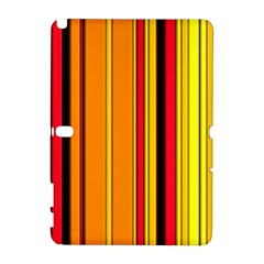 Hot Stripes Fire Samsung Galaxy Note 10 1 (p600) Hardshell Case