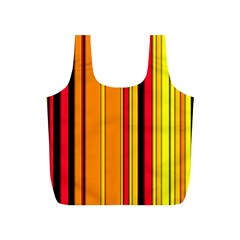 Hot Stripes Fire Full Print Recycle Bags (s)