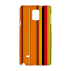 Hot Stripes Fire Samsung Galaxy Note 4 Hardshell Case