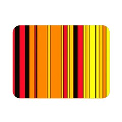 Hot Stripes Fire Double Sided Flano Blanket (Mini)
