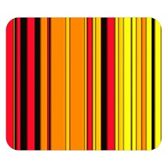 Hot Stripes Fire Double Sided Flano Blanket (small)