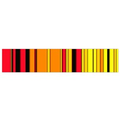 Hot Stripes Fire Flano Scarf (small)