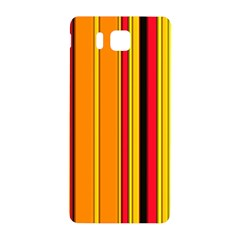 Hot Stripes Fire Samsung Galaxy Alpha Hardshell Back Case