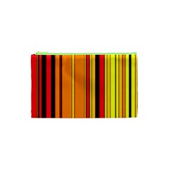 Hot Stripes Fire Cosmetic Bag (xs)