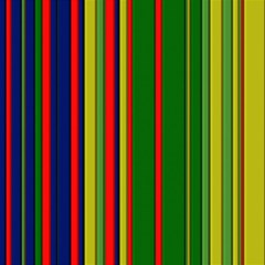 Hot Stripes Grenn Blue Magic Photo Cubes