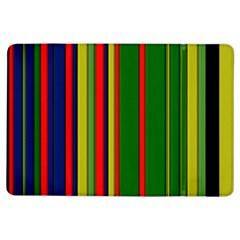 Hot Stripes Grenn Blue Ipad Air Flip