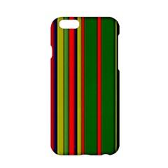 Hot Stripes Grenn Blue Apple iPhone 6/6S Hardshell Case